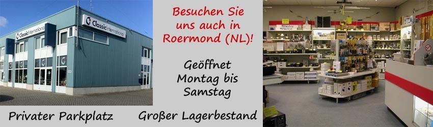 Besuchen Sie uns auch in Roermond (NL) !