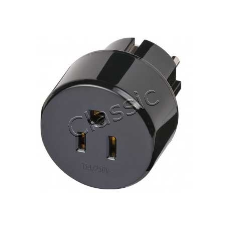 Adapter USA-Steckdose/EU-Stecker 3-Pin