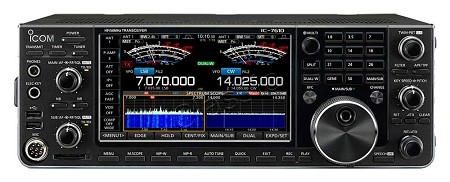 ICOM IC-7610 + SP-41