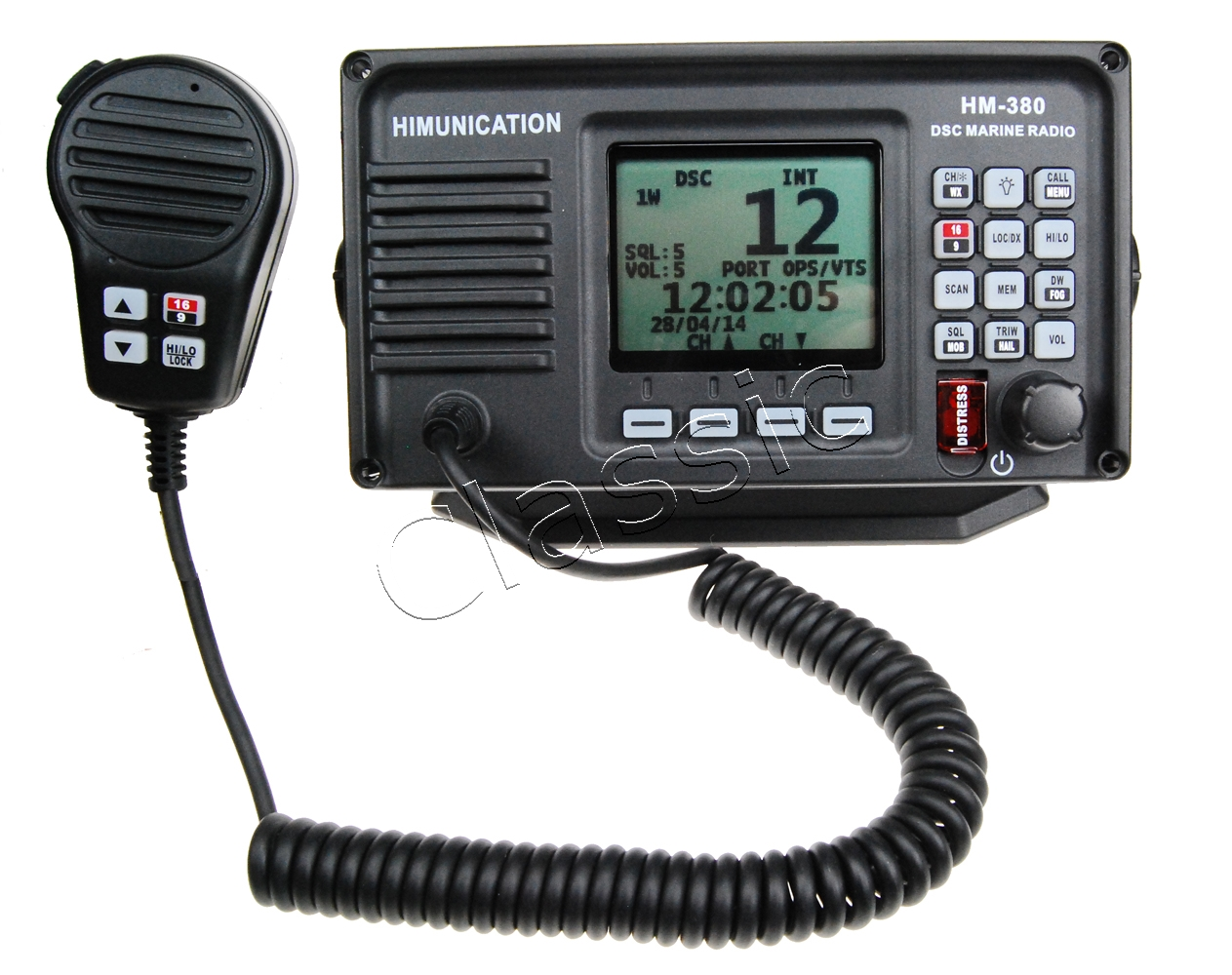 Himunication HM-380 DSC/GPS (ATIS)